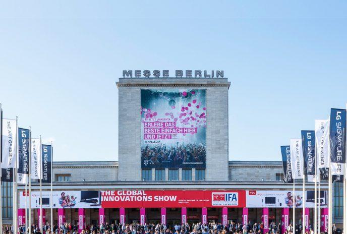 Die IFA Berlin zeigt auf dem Messegelände die neusten Technik-Highlights