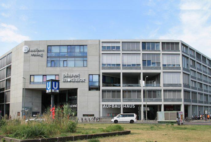 Das Aufbau-Haus hat das Gesicht des Moritzplatz' verändert