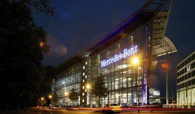 Das Art Dinner der Bürgerstiftung Berlin findet in der Mercedes Welt am Salzufer statt