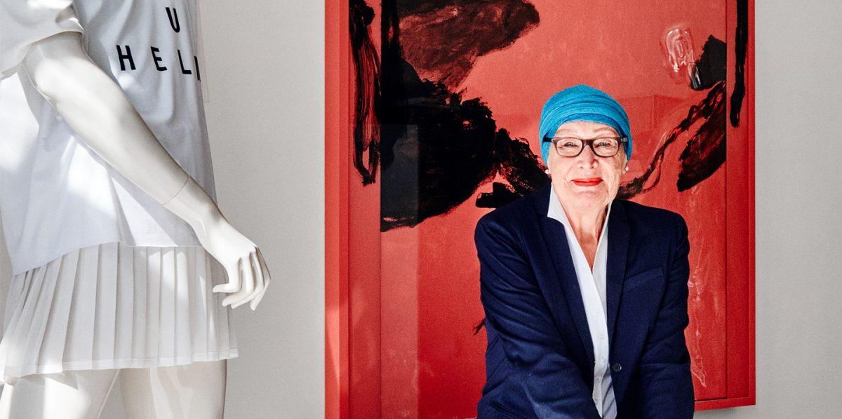 Geraldine Michalke hat die Kunstsaele mitgegeründet