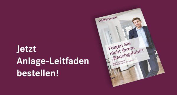 Anlage-Leitfaden Weberbank